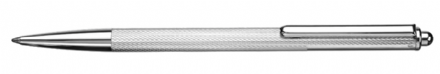 Lincoln Sterling Silver Ballpoint Pen - Corn Pattern Sterling Silver
